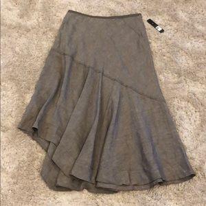 Nic + Zoe Linen Blend Maxi Skirt NWT